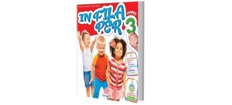 """Libri didattici Scuola dell'Infanzia """"IN FILA PER 3, 4, 5 anni"""""""