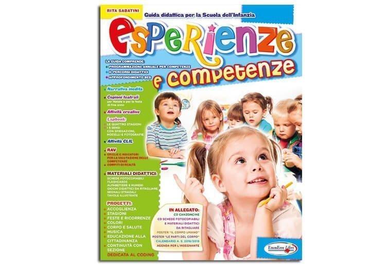 """Guida didattica insegnanti scuola infanzia """"ESPERIENZE E COMPETENZE"""""""
